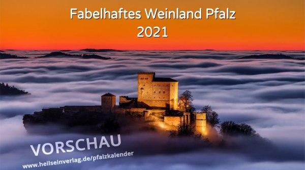 Kalender »Fabelhaftes Weinland Pfalz« 2021