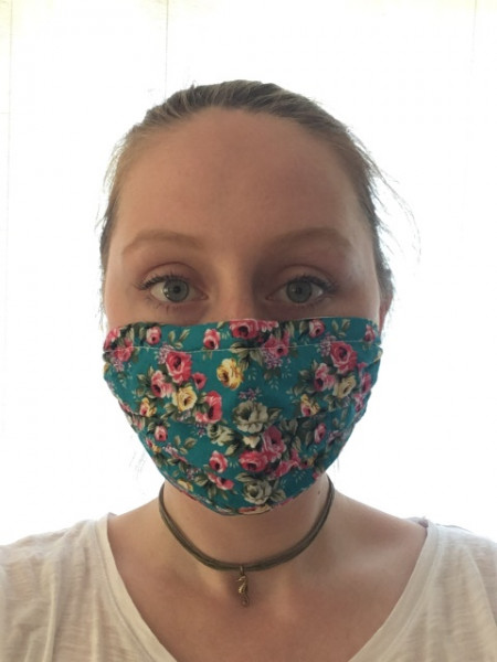 Mund-Nasen-Maske »Blumenmuster«