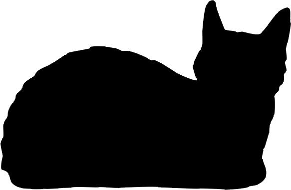 Katze »Merlin«