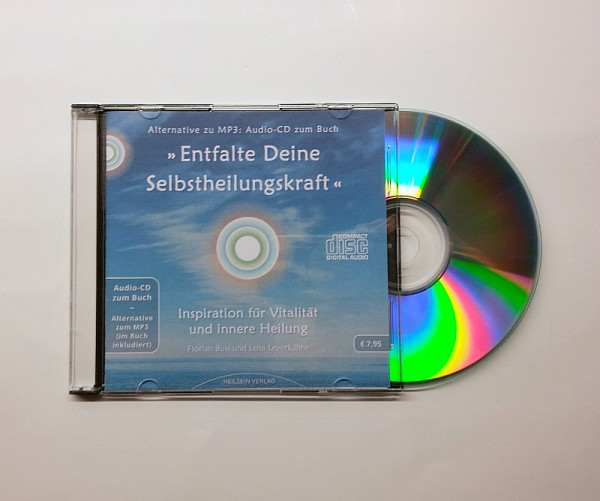 Audio-CD zum Buch »Entfalte Deine Selbstheilungskraft«