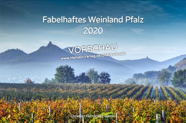 Kalender »Fabelhaftes Weinland Pfalz« 2020