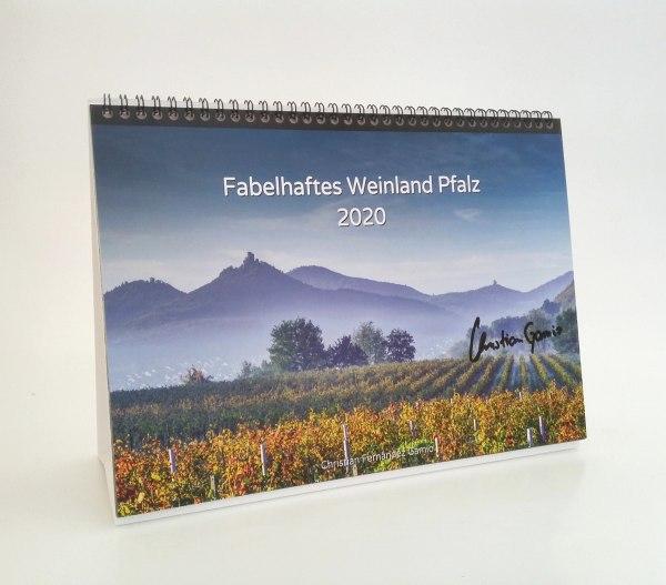 Exklusiv limitierter, handsignierter A4-Tischkalender