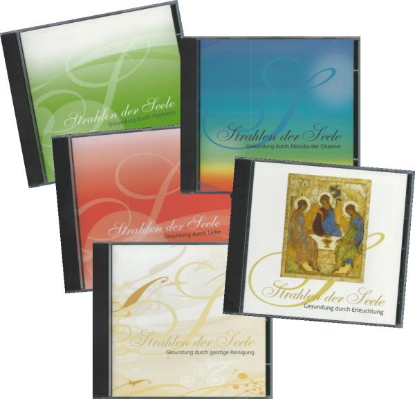 5er-CD-Sparset »Strahlen der Seele«