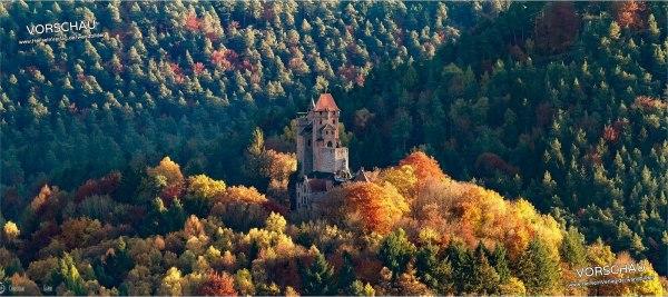 Wandbild »Burg Berwartstein«